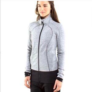 LULULEMON Asana Nice Herringbone Jacket Rare